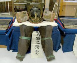 多太神社 齋藤実盛の兜